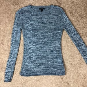 J Crew Ribbed Knit Long Sleeve Sweater XS G8225
